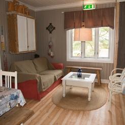 Stua i leiligheten